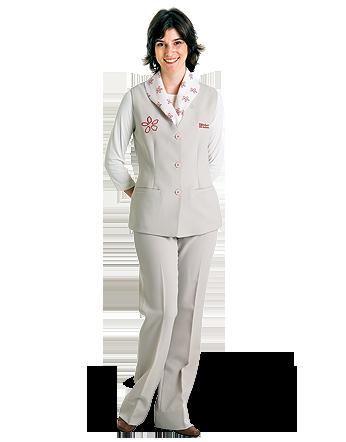 Uniforme Hospitalar Feminino para Recepção  bb0095077503d